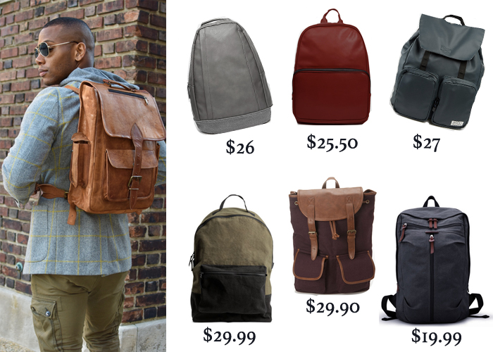 The coolest backpacks for guys