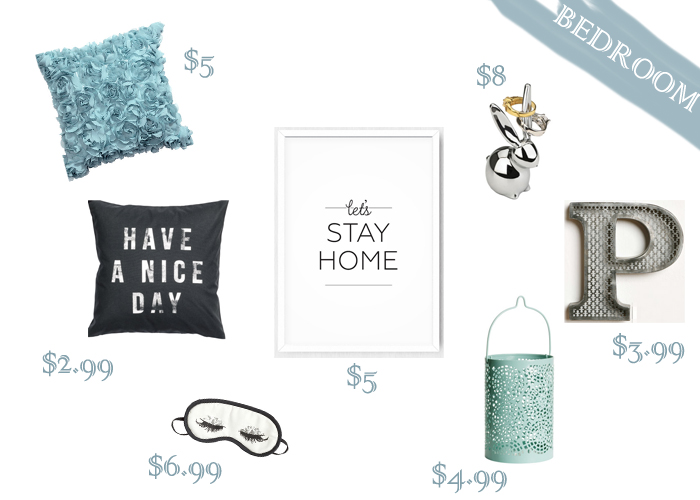 Decor under $10 to turn your bedroom into a relaxing haven