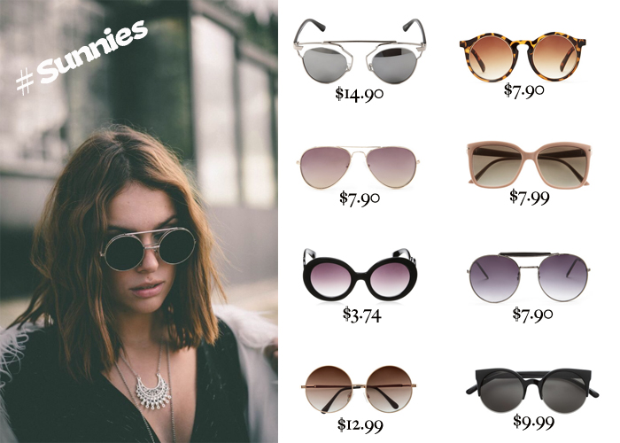 Must Haves: This seasons most stylish sunglasses under $15
