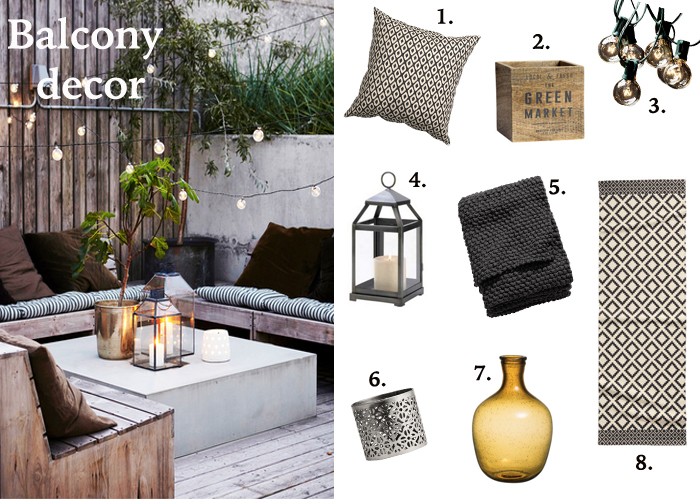 Decorate Your Spring Balcony For Under $20