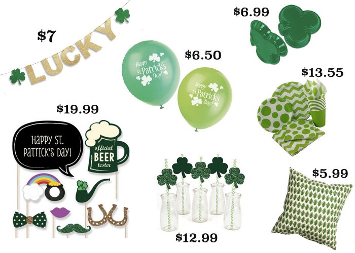 Affordable St. Patricks Day Party Decor – Shipping Just In Time!