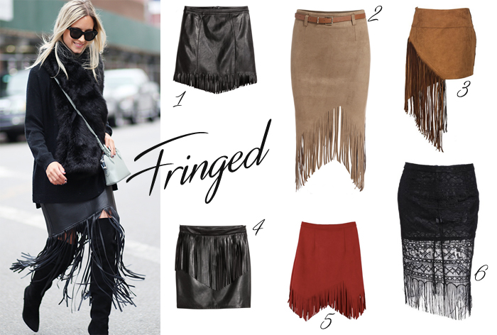 Sassy Fringed Skirts under $20