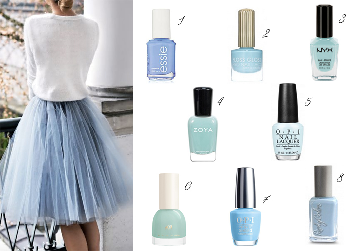 Light blue nail polish for spring under $10