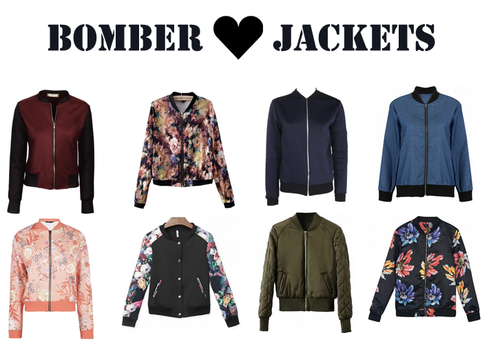Must Haves: Bomber Jackets For Spring Under $30