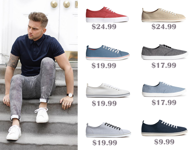 Canvas Sneakers Under $30